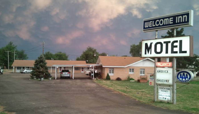 Welcome Inn, Kingman, Kansas