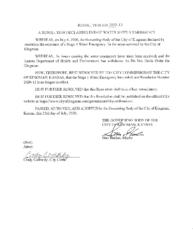 Resolution 2020-13